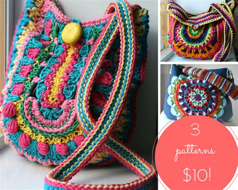 Boho New Pattern new boho crochet purse pattern and a new collection of