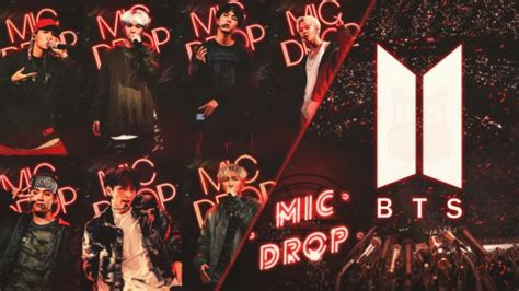 wallpaper bts mic drop browse other fan art deviantart