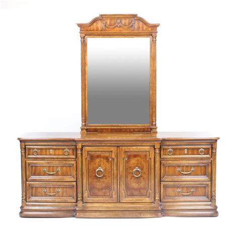 Headboard And Dresser by Drexel Heritage Cameo Collection Dresser Headboard And
