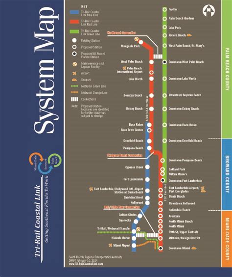 tri rail map rail insider south florida rail upgrades to provide more freight transit travel options