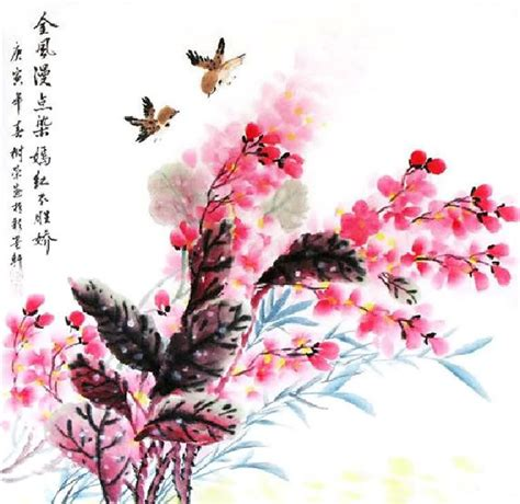 new year flower painting other flowers painting other flowers 2361048 69cm