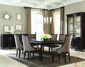 Modern Formal Dining Room Sets Classics Contemporary Brindle Finish Formal Dining Set