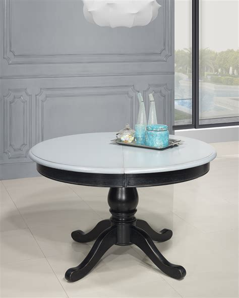 Table Ronde Bois 2615 by Table Basse Pied Central Maison Design Wiblia