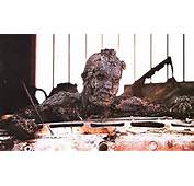 The Shocking Image Of A Soldier Incinerated When His Vehicle Part