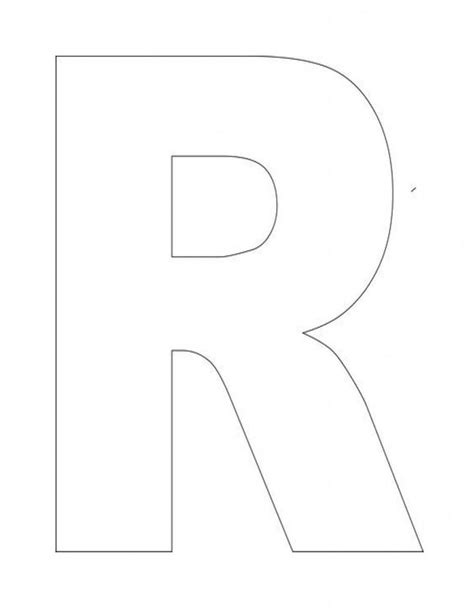 17 Best Images About Letter Of The Week Quot R Quot On Pinterest Free Printable Alphabet Letters Letter A Template For Preschool