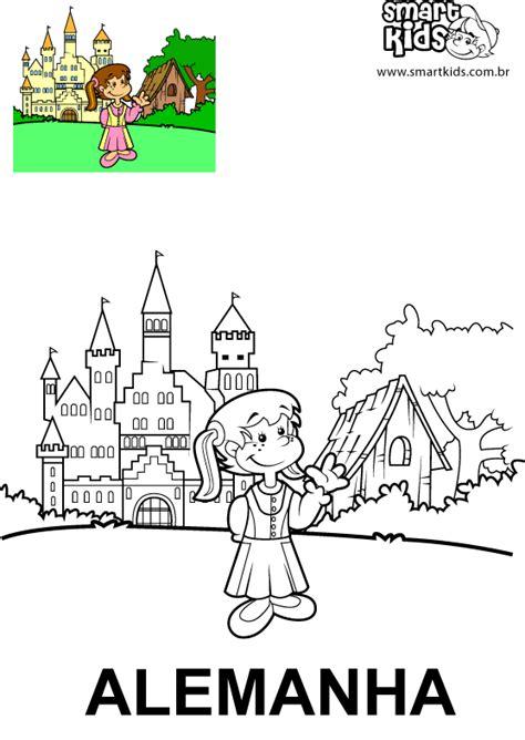 colorir desenho alemanha desenhos para colorir smartkids