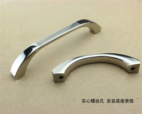 bedroom furniture door handles 10pcs 64mm chroming furniture hardware door knobs and