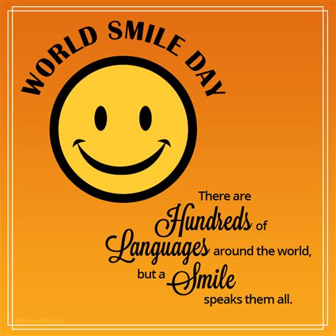Smile There world smile day smiling picture