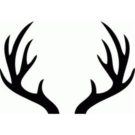 deer antler silhouette clipart best