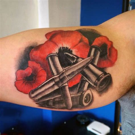 remembrance poppy tattoo designs 75 poppy designs for remembrance flower ink