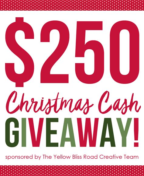 Christmas Cash Giveaway - christmas decorating details and 250 cash giveaway town country living