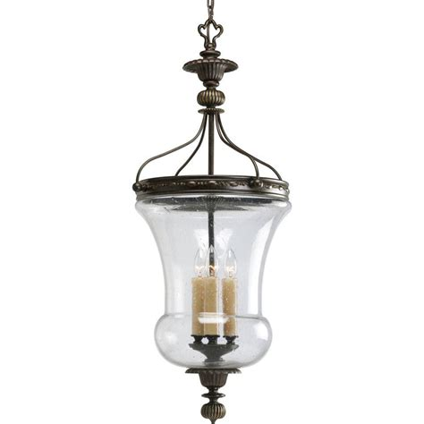 Progress Lighting Fiorentino Collection 3 Light Forged Foyer Pendant Lighting