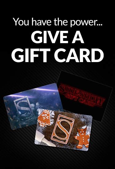 Www Sideshow Collectibles Com Gift Card - holiday sideshow collectibles