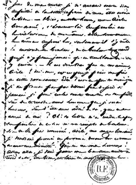 Exemple De Lettre Ouverte Victor Hugo Lettre De Victor Hugo 224 Ad 232 Le Foucher Quot Je L Aime Je Suis Pr 234 T 224 Tout Lui Sacrifier Quot Des