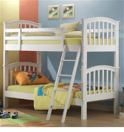 Joseph Bunk Beds White Joseph Bunk Beds
