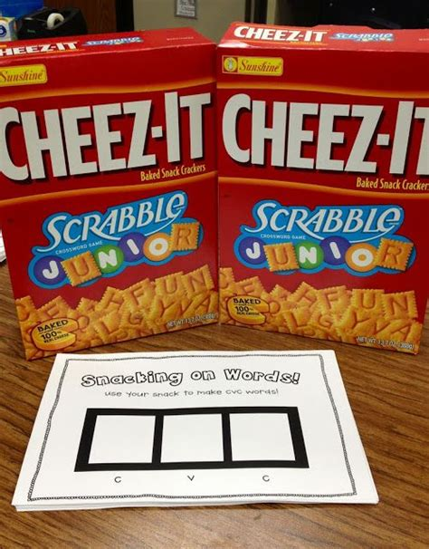 cheez it scrabble use scrabble cheez its to practice cvc words so