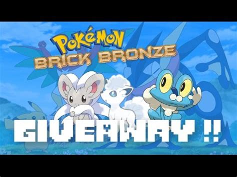 Pokemon Live Giveaway - giveaway battling roblox pokemon brick bronze live youtube