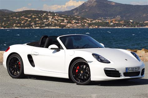porsche white convertible 2013 porsche boxster reviews and rating motor trend
