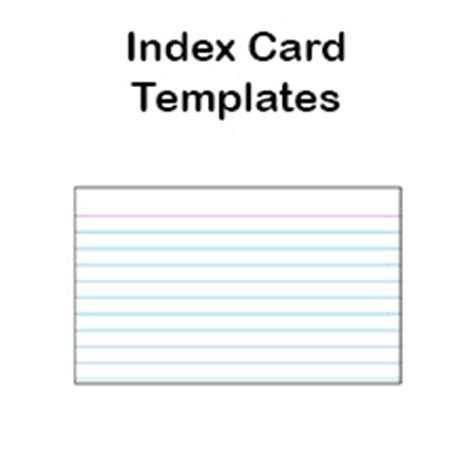 laser printer index card template printable index card templates 3x5 and 4x6 blank pdfs