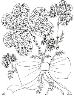 coloring pages for adults st patrick s day make it easy crafts st patrick s day free coloring page