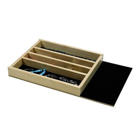 Jewelry Tray Drawer Inserts by Jewelry Tray Organizer Insert G Cl 18 204 Extended