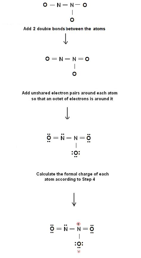 solved write a lewis electron simple method for writing lewis structures for n2o3 23