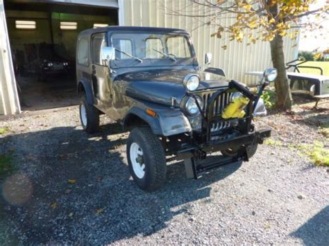 Plow Jeep Sell Used 1984 Jeep Cj7 Meyer Snow Plow In Holtwood