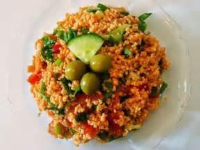 recettes de salade de boulgour et lentilles