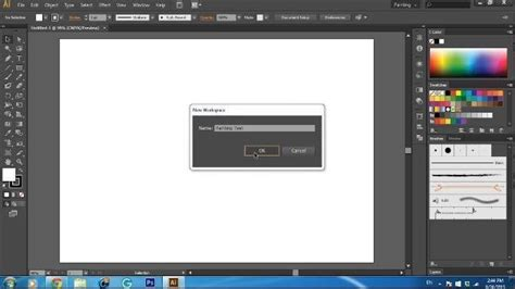 adobe illustrator cs6 quiz create new workspace in illustrator cs6 visihow