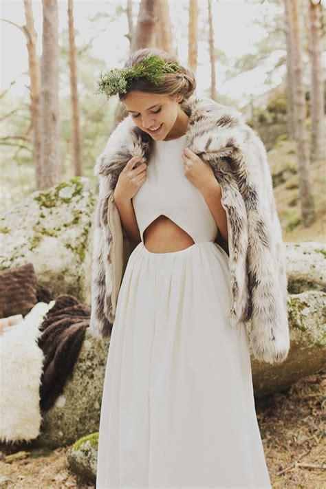 imagenes de vestidos de novia para invierno el sue 241 o de invierno de demi novias tendencias de bodas