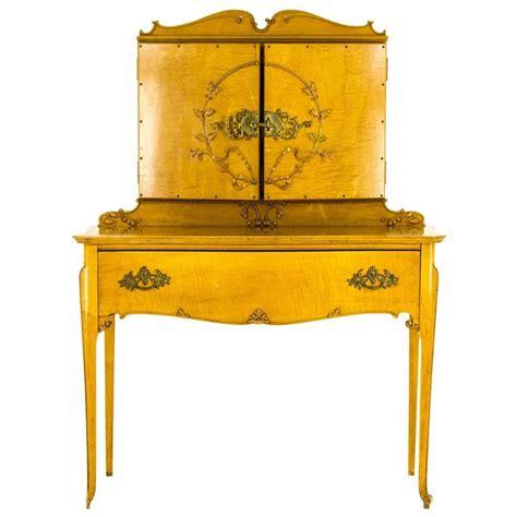 1920 Vanity Dresser by Wonderful Antique Tiger Maple Vanity Dresser Three