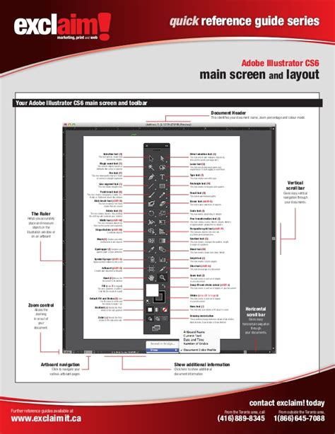 adobe illustrator cs6 quick guide free adobe illustrator cs6 quick reference guide from exclaim