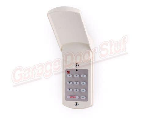 Domino Garage Door Keypad Domino Gd 1 Wired Keyless Entry Garage Door Keypad Gd1 Ebay