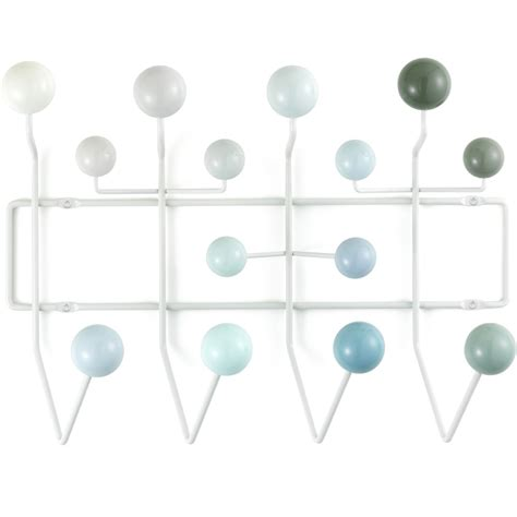 Eames Coat Rack Replica by Vitra Eames Hang It All Coat Rack White