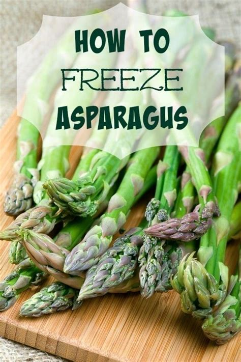 25 best ideas about how to freeze asparagus on pinterest freezing asparagus blanching