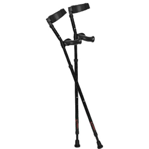 how to make crutches more comfortable on hands in motion forearm crutches