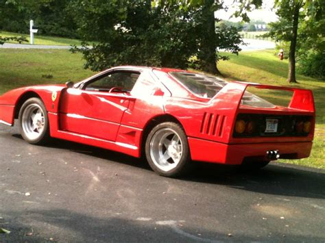 fake ferrari for sale 1987 ferrari f40 replica for sale