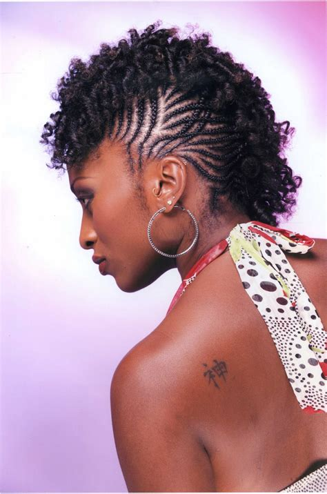 up hairstyles african americans braided mohawk up do on natural hair