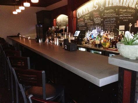 commercial bar tops concrete bars and bar tops