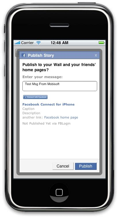 iphone fbconnect facebook connect tutorial mobisoft