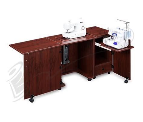 sewing machine serger cabinet plans sylvia design model 1000 space saver sewing serger cabinet