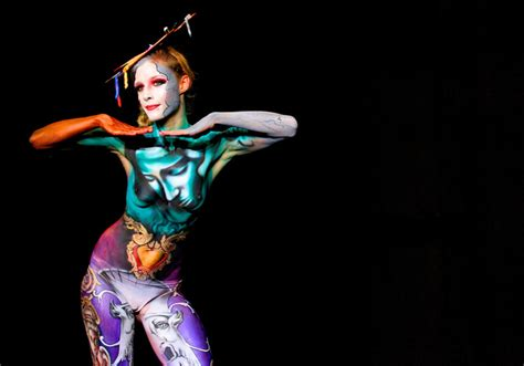 swiss painting festival il bodypainting si fa sempre pi 249 spettacolare www stile it