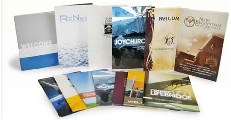 welcome folders for churches