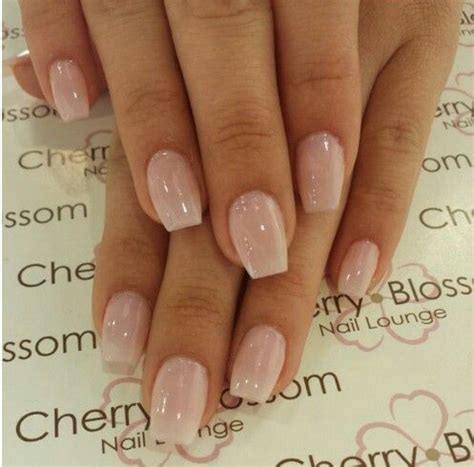 short coffin nails short coffin nails with american manicure nude nails