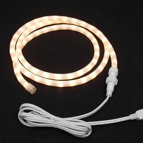 custom frosted rope light kit 120v 1 2 quot novelty lights