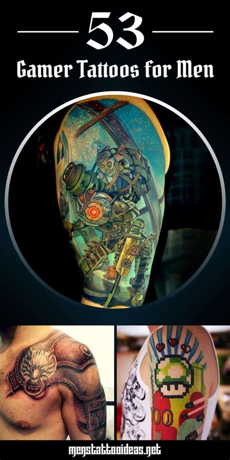 tattoo ideas video games tattoos for gamer ideas for guys