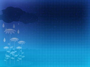 background templates for ppt related to acid rain monsoon rains 05 powerpoint templates