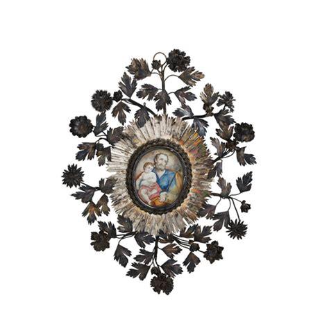 fiori d argento due cornici in fiori d argento palermo xviii secolo