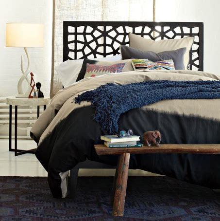 Rubber Doormat Headboard by Diy West Elm Morocco Headboard Kara Paslay Design