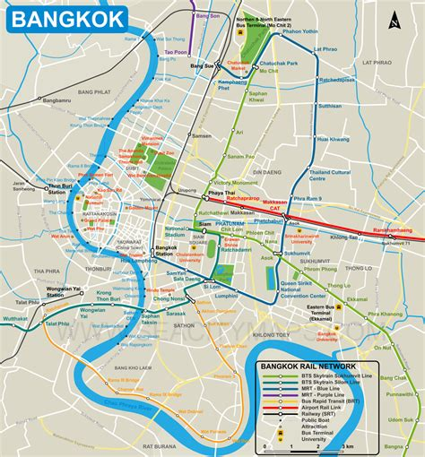 map of city centre map of bangkok city centre seacitymaps